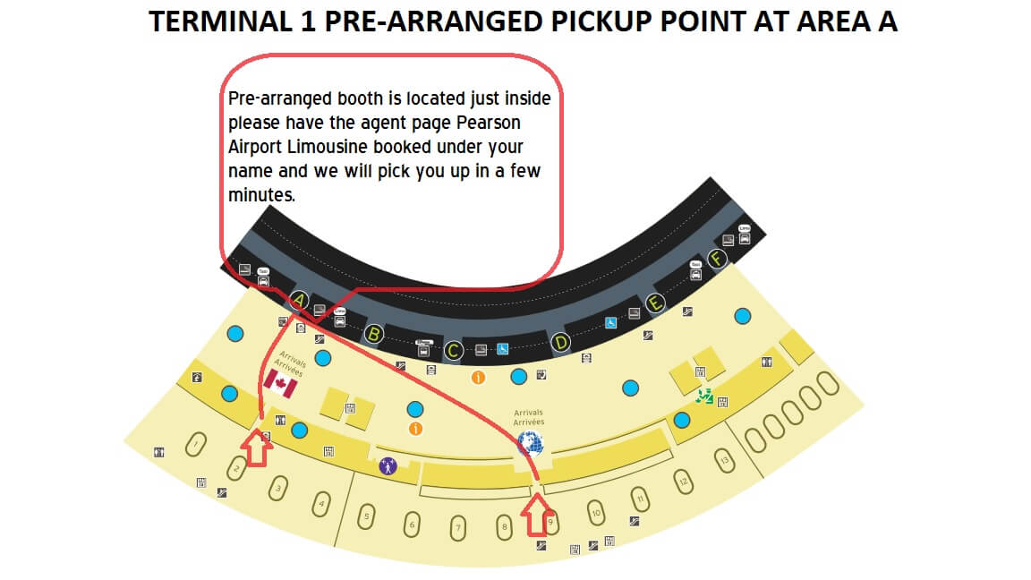 Terminal Guide And Pickup Procedure Pearson Airport